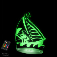 Aloka Sleepy Night Lights - Pirate