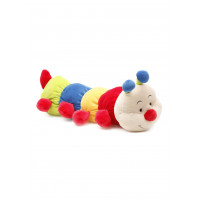 Baby Bow Caterpillar Rattle (Blue/Red)