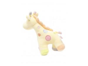 Baby Bow Cotton Velour George Giraffe