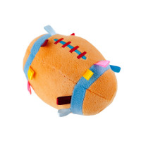 Baby Bow Rugby Ball Rattle