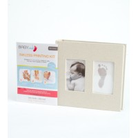 Baby Ink Linen Album With Printing Kit