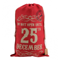 Red Hessian Sack (25 Dec)