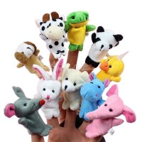 Animal Finger Puppets (Set of 10)