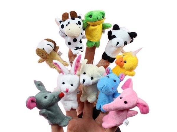 Animal Finger Puppets (Set of 10)