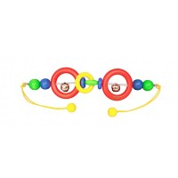 Gepetto Pram Rattle - Two Bells