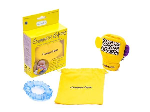 Gummee Glove - Blue Teether
