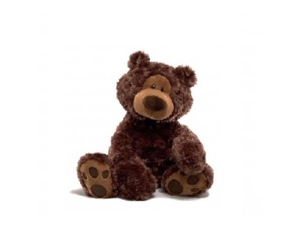 Gund - Philbin Dark Brown Bear (33cm)
