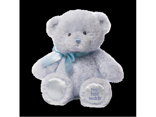 Gund My First Teddy (Blue)