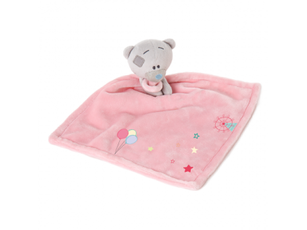 Tiny Tatty Teddy Comforter (Girl)