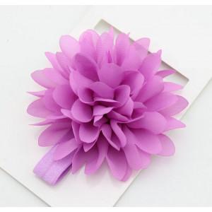 Bright Flower Headband (Purple)