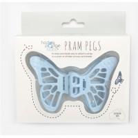 Peggles Pram Pegs (Pale Blue)
