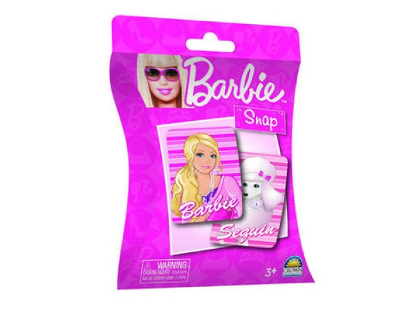 Cards - Barbie Snap Card Game
