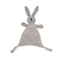 Lily & George Wild Ones Bunny Comforter Grey