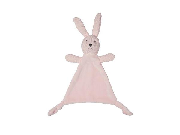 Lily & George Wild Ones Bunny Comforter Pink