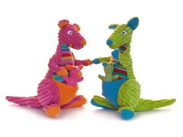 Lily & George Stripe Knit Kangaroo