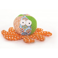 Lily & George Ollie Octopus Rattle