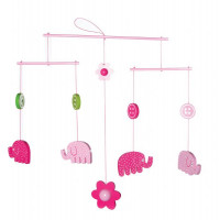 Lily & George Elephant Mobile