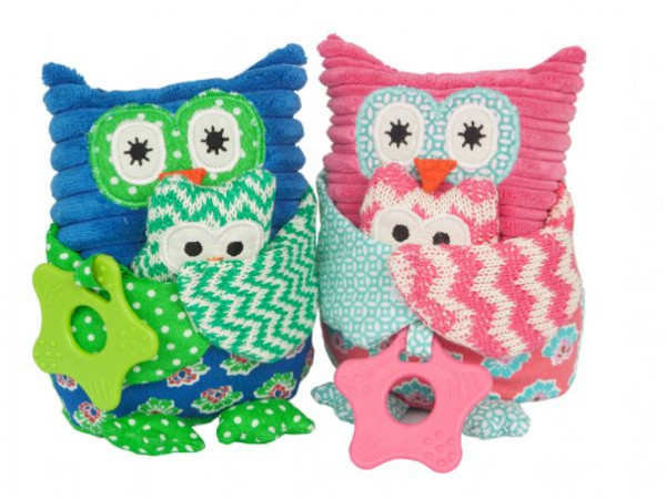 Lily & George Mama & Papa Owl (Small)