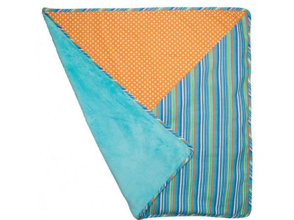 Lily & George Larrikin Blanket Blue