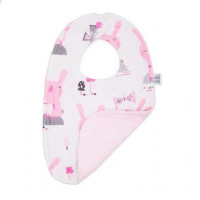 MayLily Bib (Pink Bunnies)