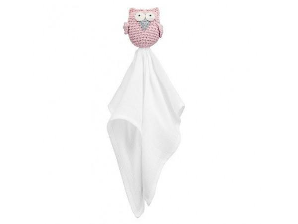 MayLily Owl Comforter (Pink)