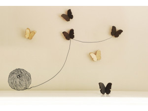 Newbies Butterfly Set - Natural