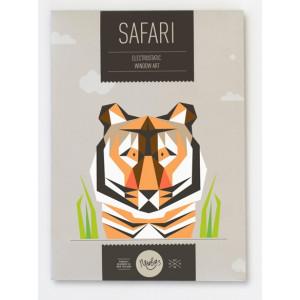 Newbies Window Art - Safari