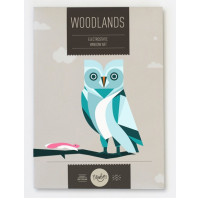 Newbies Window Art - Woodlands