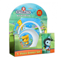 Octonauts 3pc Dinner Set