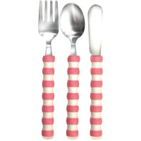 Gripables - Comfortable Cutlery (Pink)