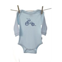 Snooky Long Sleeve Body Suit Blue Trike