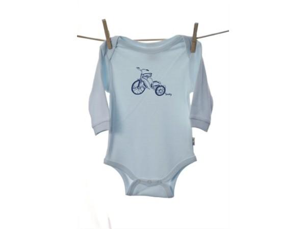 Snooky Long Sleeve Body Suit Blue Trike