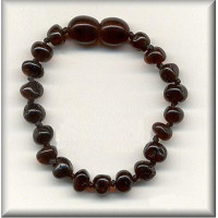 Amber Teething Bracelet (Cherry)