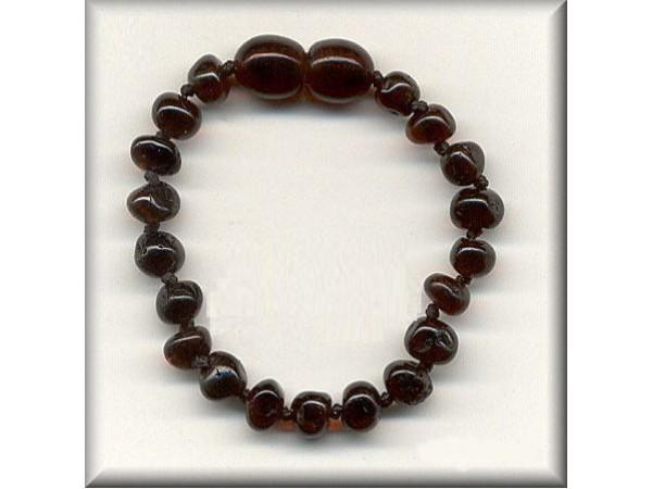 Amber Teething Bracelet (Cherry)