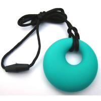 Calami Pendant Circle (Turquoise)