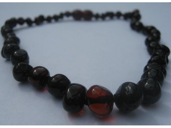 Amber Teething Necklace (Cherry)