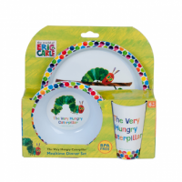 Very Hungry Caterpillar 3pc Dinner Set